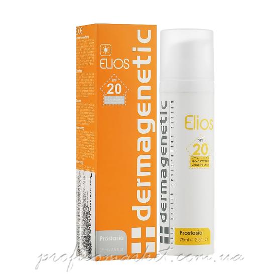 Солнцезащитный крем 3в1 защита SPF20 Dermagenetic Elios SPF 20 3in1