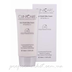 Солнцезащитный крем с эффектом шелка SPF30 ClinicCare Sun Shield Silky Cream